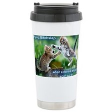 Bitchslap large Travel Mug