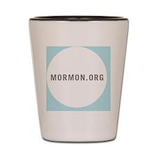 Mormon-Mini-Button Shot Glass