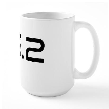 262 irunbecause higher Large Mug