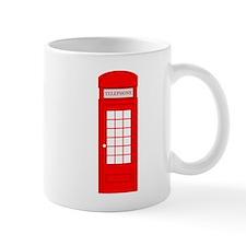 British Red Telephone Box Mugs