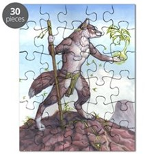 Earth Wolf CARD Puzzle