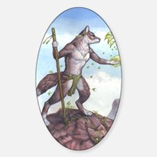 Earth Wolf CARD Decal