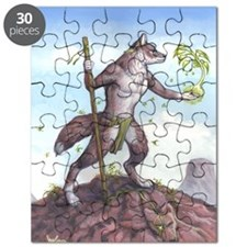 Earth Wolf TEE Puzzle