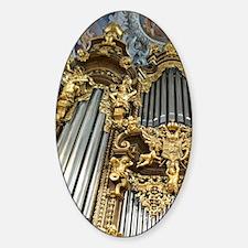 Ornate pipe organ, St. Stevens Cath Decal