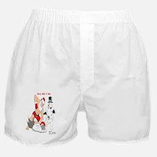MMA Santa Boxer Shorts