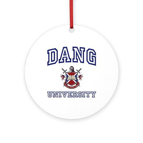 DANG University Ornament (Round)