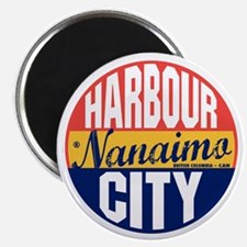Nanaimo Vintage Label B Magnet