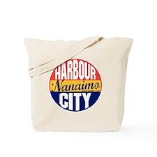 Nanaimo Vintage Label B Tote Bag