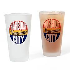 Nanaimo Vintage Label B Drinking Glass