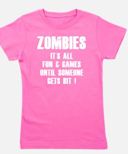 zombiesGames2 Girl's Tee