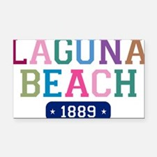 Laguna Beach 1889 W Rectangle Car Magnet