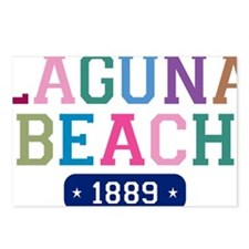 Laguna Beach 1889 W Postcards (Package of 8)