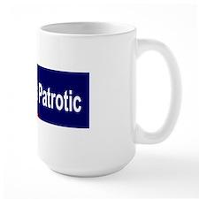 Sticker (Bumper) dissent is patriotic Mug