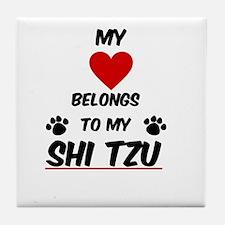 Show Tzu Tile Coaster