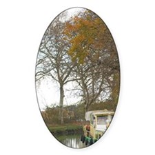 Near Carcassonne. Languedoc. Canal  Decal