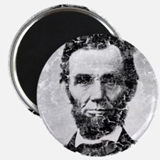abe distressed Magnet