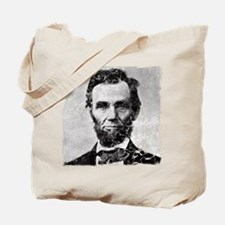 abe distressed Tote Bag