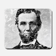 abe distressed Mousepad