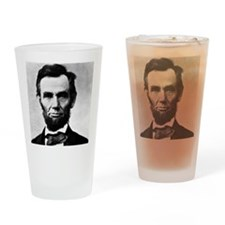 abe mousepad Drinking Glass