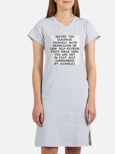 2000x2000beforeyoudiagnose Women's Nightshirt