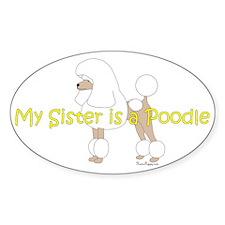 PoodleWhiteSister Decal