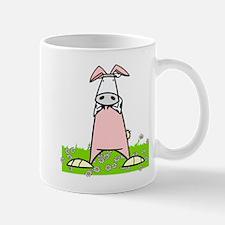 Easter Bunny Cow Mug