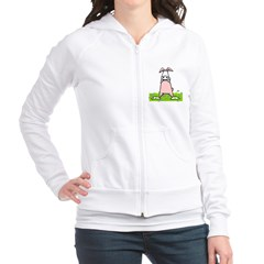Easter Bunny Cow Fitted Hoodie