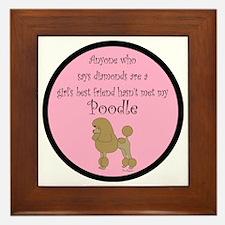 PoodleApricotGBF Framed Tile