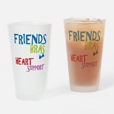 friendsDrk copy Drinking Glass