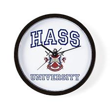 HASS University Wall Clock