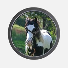 Gypsy Horse Wall Clock