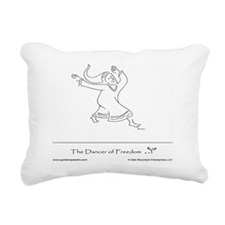 The Dancer of Freedom Rectangular Canvas Pillow