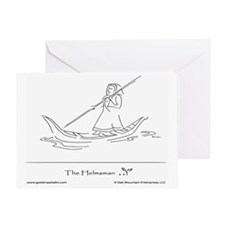 The Helmsman2 Greeting Card