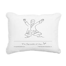The Spreader of Joy Rectangular Canvas Pillow