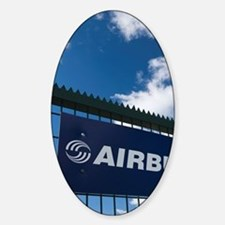 Tour of the Airbus aircraft factory Decal