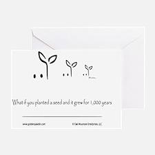 Logo Title Greeting Card