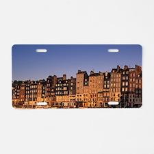 Vieux Basin / Old Port, Qua Aluminum License Plate
