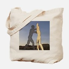 A 30m/100ft sculpturecule Man by Jonathan Tote Bag