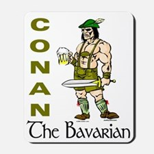 Conan the Bavarian Mousepad