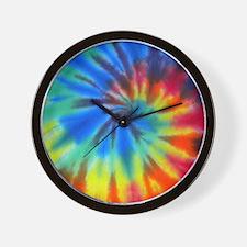 Blue Spiral iPad Wall Clock