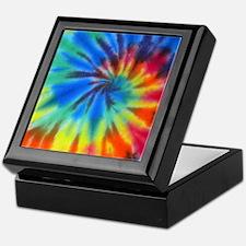 Blue Spiral iPad Keepsake Box