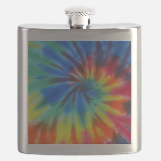 Blue Spiral iPad Flask