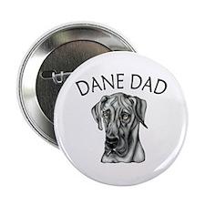 Black UC Dane Dad Button