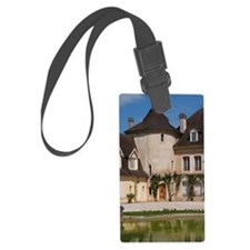 The main building with its tower Luggage Tag