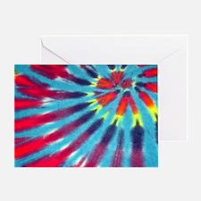 Blue Funk Bags Greeting Card