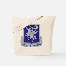 160th Special Operations Aviation Regimen Tote Bag