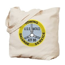 US NAVY SHIPS THE USS MATACO ATF-86 A MIL Tote Bag
