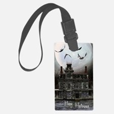haunted_house_3_greeting_card_19 Luggage Tag