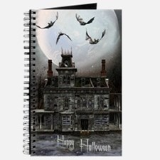 haunted_house_3_greeting_card_192_V_F Journal