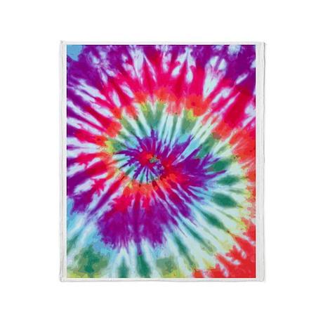 Pink Spiral FF Throw Blanket